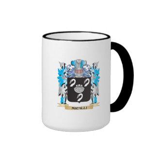 Escudo de armas de Micalli - escudo de la familia Tazas De Café