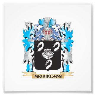 Escudo de armas de Michielson - escudo de la Fotografías