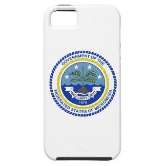 Escudo de armas de Micronesia iPhone 5 Fundas