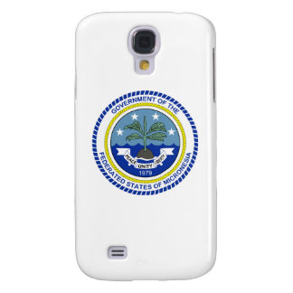 Escudo de armas de Micronesia Funda Para Galaxy S4