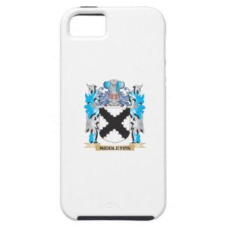 Escudo de armas de Middleton - escudo de la iPhone 5 Protector