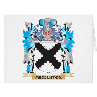 Escudo de armas de Middleton - escudo de la Tarjeta