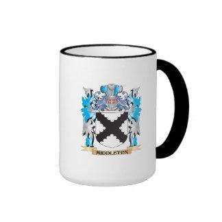 Escudo de armas de Middleton - escudo de la Tazas