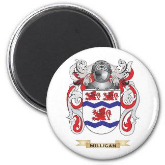 Escudo de armas de Milligan (escudo de la familia) Imanes