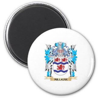 Escudo de armas de Milligan - escudo de la familia Iman Para Frigorífico