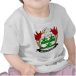 Escudo de armas de Milligan/escudo de la familia Camisetas