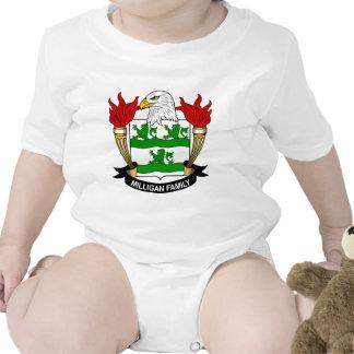 Escudo de armas de Milligan/escudo de la familia Traje De Bebé