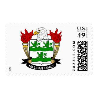 Escudo de armas de Milligan/escudo de la familia Sello