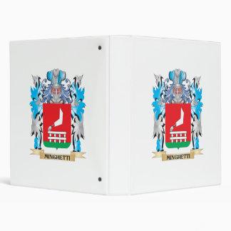 Escudo de armas de Minghetti - escudo de la