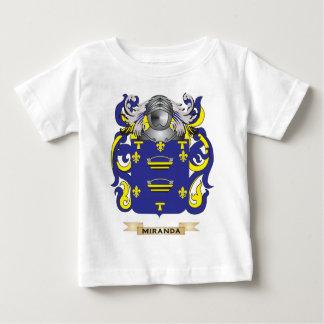 Escudo de armas de Miranda (escudo de la familia) Camisas