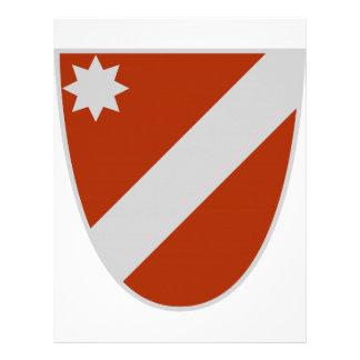Escudo de armas de Molise (Italia) Membrete Personalizado