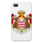 Escudo de armas de Mónaco iPhone 4 Funda
