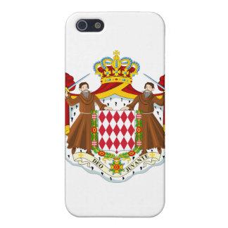 Escudo de armas de Mónaco iPhone 5 Carcasa
