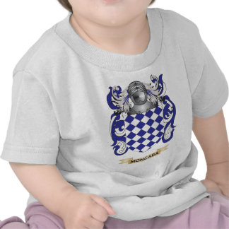 Escudo de armas de Moncada (escudo de la familia) Camisetas