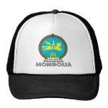 Escudo de armas de Mongolia Gorras De Camionero