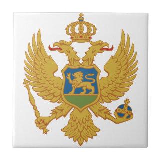 Escudo de armas de Montenegro Azulejo Cerámica