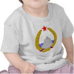 Escudo de armas de Montenegro del SENIOR Camisetas
