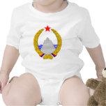 Escudo de armas de Montenegro del SENIOR Trajes De Bebé