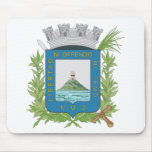 Escudo de armas de Montevideo Tapetes De Ratones