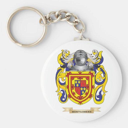 Escudo de armas de Montgomerie (escudo de la famil Llavero Redondo Tipo Pin