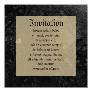 Escudo de armas de Montresor Invitación 13,3 Cm X 13,3cm