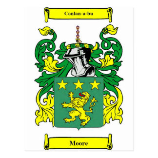 Escudo de armas de Moore Postal