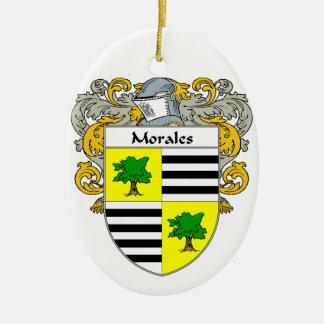 Escudo de armas de Morales/escudo de la familia Ornatos