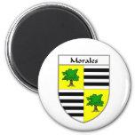 Escudo de armas de Morales/escudo de la familia Imanes De Nevera