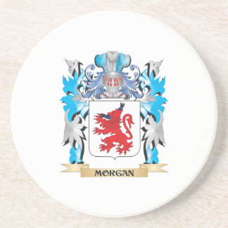 Escudo de armas de Morgan - escudo de la familia Posavasos Para Bebidas