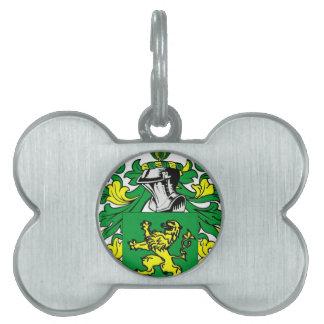 Escudo de armas de Morgan Placa Mascota
