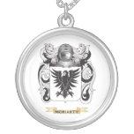 Escudo de armas de Moriarty (escudo de la familia) Collar Personalizado