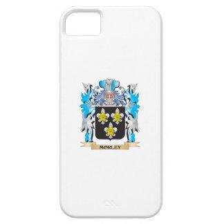 Escudo de armas de Morley - escudo de la familia iPhone 5 Case-Mate Coberturas