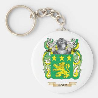 Escudo de armas de Moro escudo de la familia Llaveros