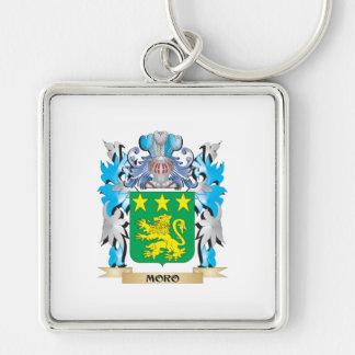 Escudo de armas de Moro - escudo de la familia Llaveros Personalizados
