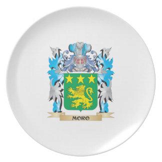 Escudo de armas de Moro - escudo de la familia Plato