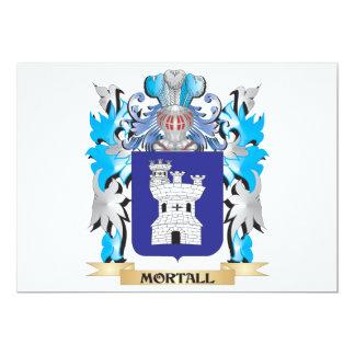 Escudo de armas de Mortall - escudo de la familia Comunicado