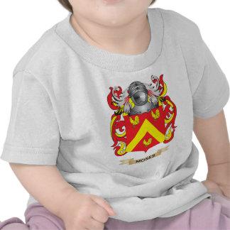 Escudo de armas de Moses (escudo de la familia) Camisetas