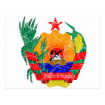 Escudo de armas de Mozambique Postales