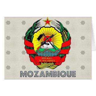 Escudo de armas de Mozambique Tarjetas