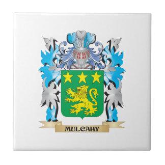 Escudo de armas de Mulcahy - escudo de la familia Azulejos