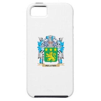 Escudo de armas de Mulcahy - escudo de la familia iPhone 5 Case-Mate Protector