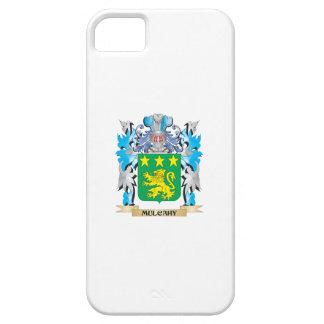 Escudo de armas de Mulcahy - escudo de la familia iPhone 5 Case-Mate Cárcasa