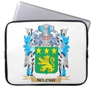Escudo de armas de Mulcahy - escudo de la familia Funda Portátil