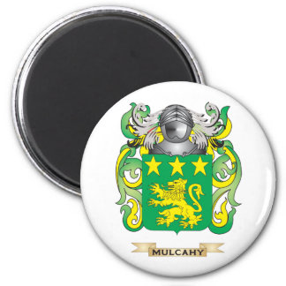 Escudo de armas de Mulcahy (escudo de la familia) Imán De Nevera