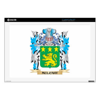 Escudo de armas de Mulcahy - escudo de la familia Portátil Calcomanías