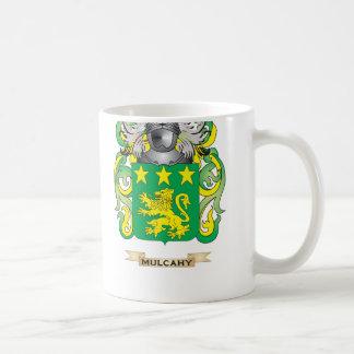 Escudo de armas de Mulcahy (escudo de la familia) Tazas De Café