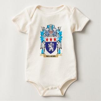Escudo de armas de Mulhern - escudo de la familia Mamelucos De Bebé