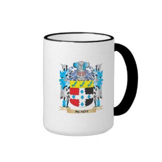 Escudo de armas de Mundy - escudo de la familia Taza De Dos Colores