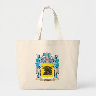 Escudo de armas de Muniz - escudo de la familia Bolsas