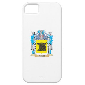 Escudo de armas de Muniz - escudo de la familia iPhone 5 Funda